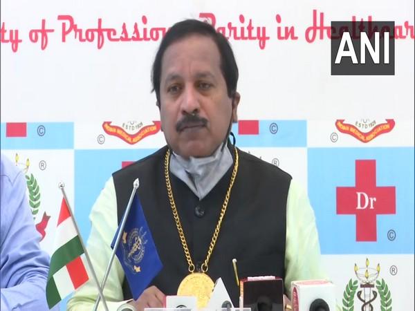 IMA President Dr JA Jayalal (Photo/ANI)
