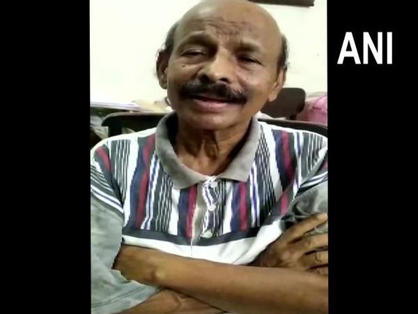 AIADMK leader C. Ponnaiyan speaking to ANI in Chennai on Saturday. [Photo/ANI]