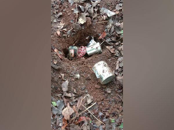 Tiffin improvised explosive devices found in the Mandapalli area of Odisha's Malkangiri district. (Photo: Twitter @BSFODISHA)