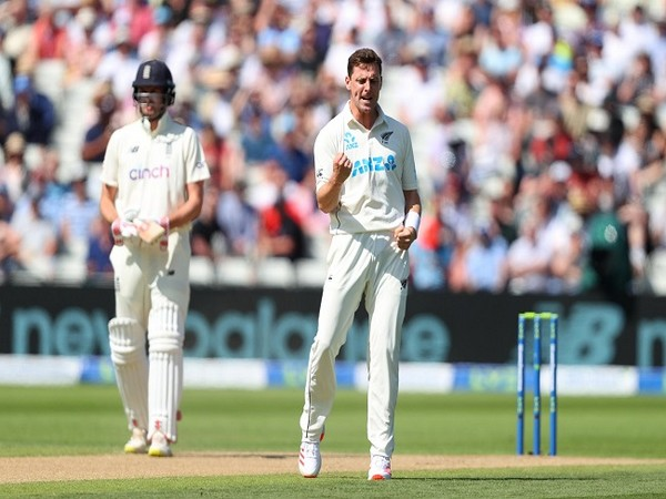 England ended the day three at 122/9 (Image: ICC)