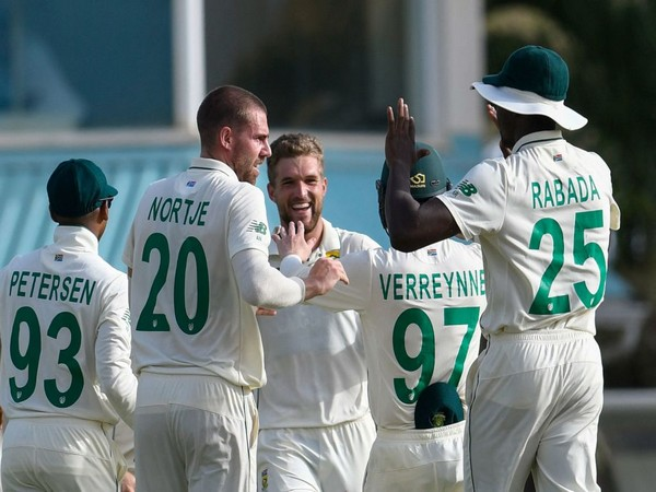 South Africa won the first Test against West Indies