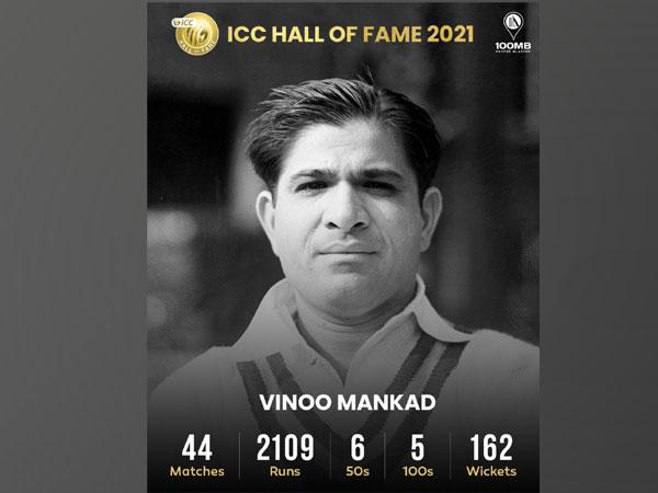 Vinoo Mankad (Image: 100MB's Twitter)