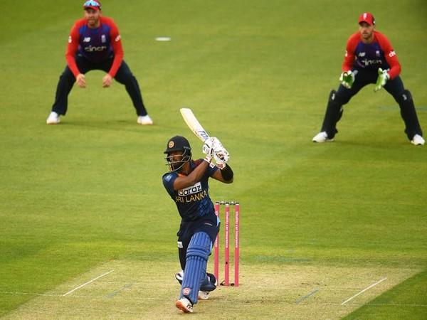 Avishka Fernando in action against England (Photo/ Sri Lanka Cricket Twitter)