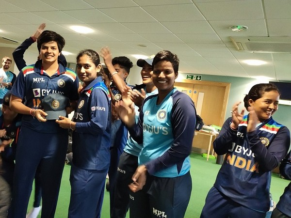 Team India before the start of first ODI