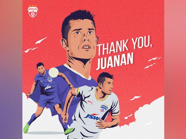 Spanish defender Juan Gonzalez (Image:  Bengaluru FC)