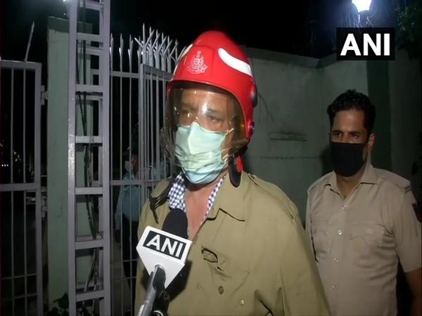 Sunil Choudhary, Deputy Chief Fire Officer, Delhi (photo/ANI)