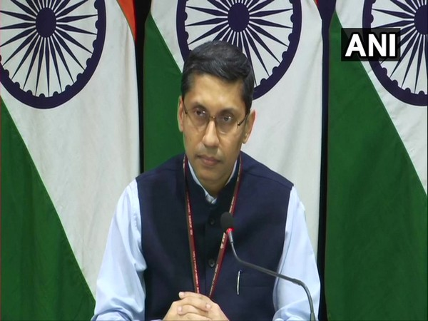 Ministry of External Affairs spokesperson Arindam Bagchi during his weekly briefing on Thursday.