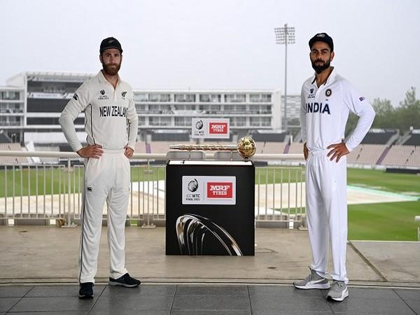 New Zealand skipper Kane Williamson and Indian captain Virat Kohli (Photo/ ICC Twitter)