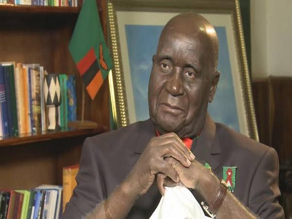 Kenneth D. Kaunda, Zambia's first President (File Photo)