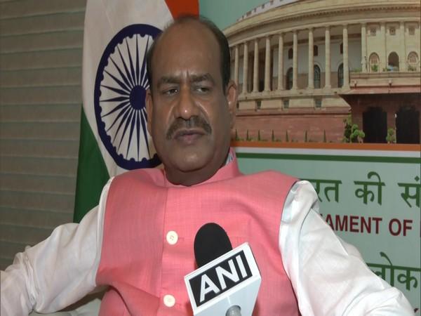 Lok Sabha Speaker Om Birla speaking to ANI