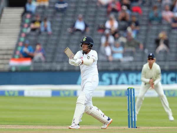 Shafali Verma in action against England (Photo/ ICC Twitter)