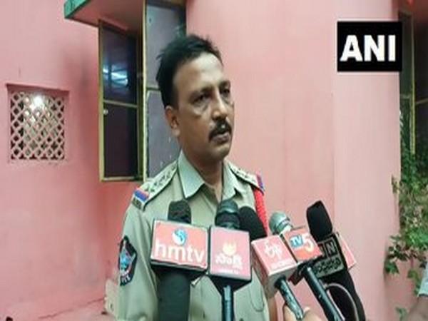 heemunipatnam Circle Inspector (CI) Srinivasa Rao (photo/ANI)
