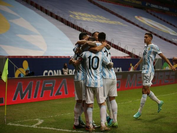 Argentina football team. (Photo: Twitter/Seleccion Argentina)