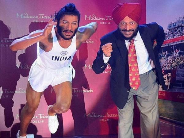 Track legend Milkha Singh (Image: Ravi Shastri's Twitter)