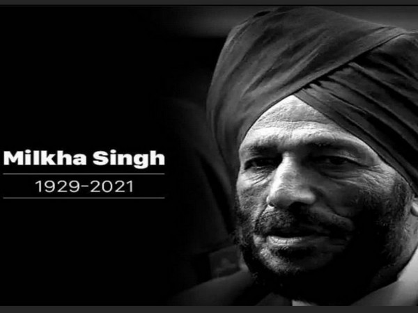 Track legend Milkha Singh passed away on Friday night. (Photo/ Sourav Ganguly twitter)