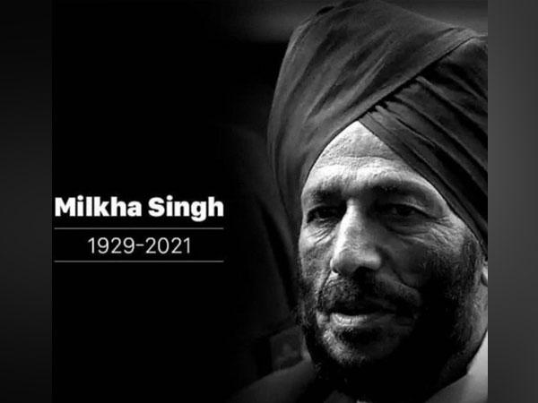 Track legend Milkha Singh passed away on Friday. (Photo/ Sourav Ganguly twitter)