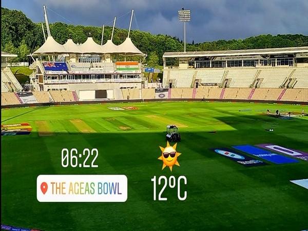 Ageas Bowl (Image:Dinesh Karthik's Twitter)