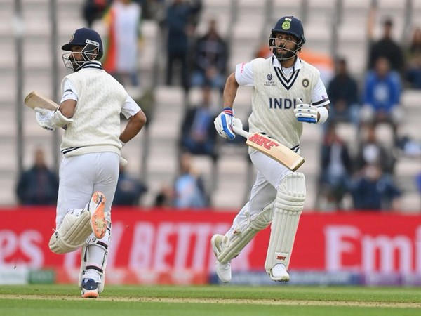 Kohli and Rahane (Photo/ ICC Twitter)