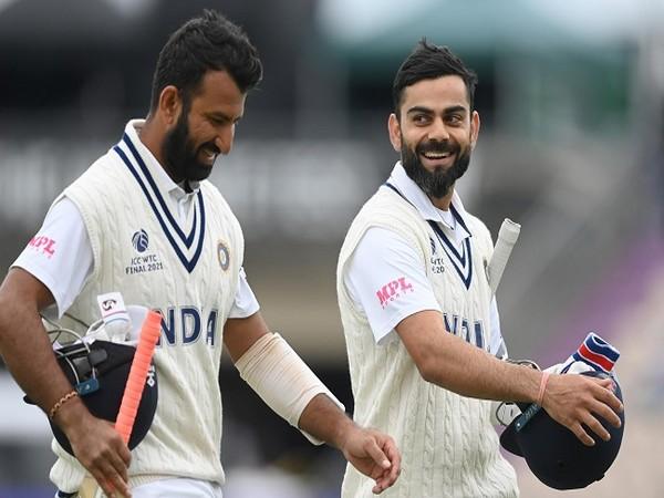 Cheteshwar Pujara and Virat Kohli (Image: ICC)
