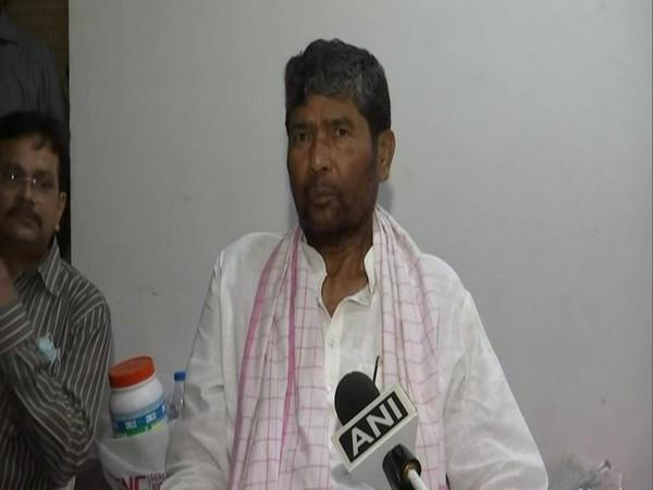 Lok Janshakti Party (LJP) national president Pashupati Kumar Paras in conversation with ANI. (Photo/ANI)