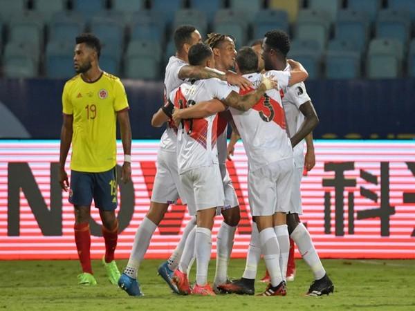 Peru defeat Colombia (Photo/ Copa America Twitter)