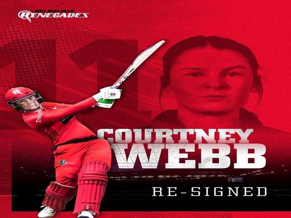 Courtney Webb (Image: Melbourne Renegades)