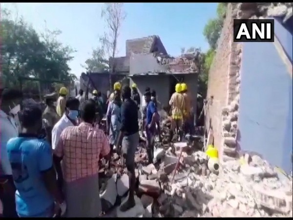 Visuals from the site (Photo/ANI)