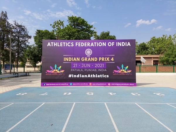 Indian Grand Prix 4. (Photo/ Athletics Federation of India twitter)