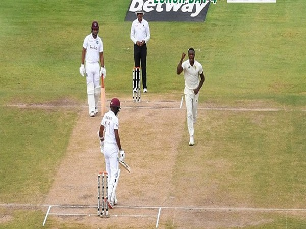 West Indies lost the second Test against South Africa by 158 runs (Image: CSA)