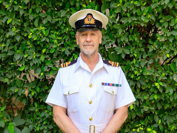 Lieutenant Commander Stephen Smith. (Photo: The British High Commission in India)