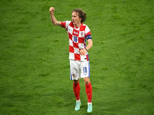 Luka Modric (Photo: Twitter/UEFA Euro 2020)