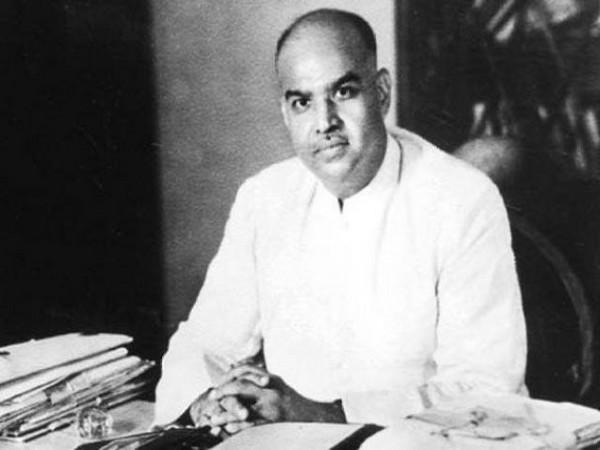 Bharatiya Jana Sangh founder Syama Prasad Mookerjee (Photo: Dr Jitendra Singh Twitter)