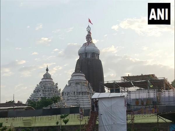 Jagannath Temple in Puri. (Photo/ANI)