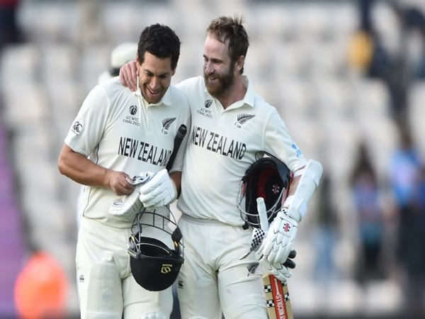Ross Taylor with Kane Williamson (Photo/ ICC Twitter)