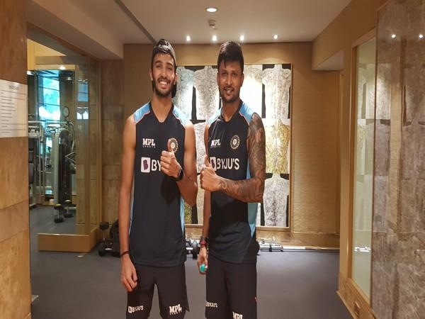 Devdutt Padikkal and Krishnappa Gowtham (Photo: Twitter/BCCI)