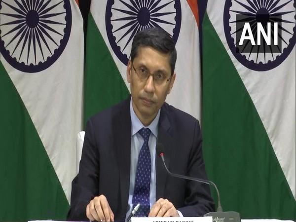 Ministry of External Affairs spokesperson Arindam Bagchi