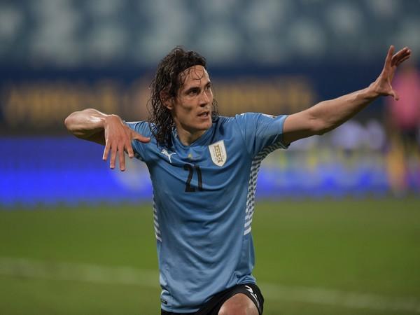 Edison Cavani (Photo: Twitter/ Copa America)