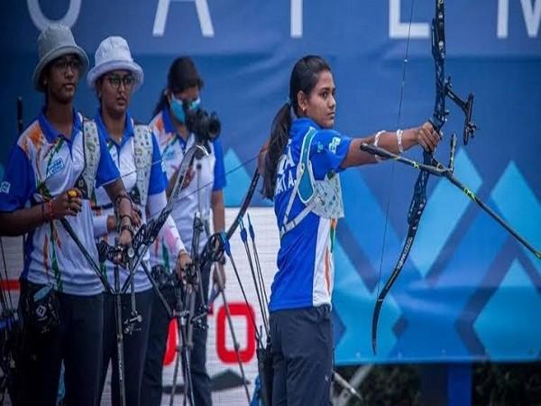 Indian women's recurve archery team (Image: SAIMedia)
