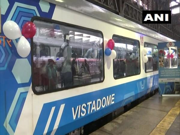Mumbai-Pune Deccan Express special train (Photo/ANI)