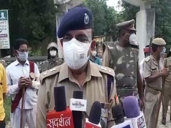 Sonbhadra Superintendent of police, Amarendra Singh (Photo/ANI)