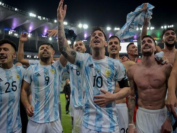Argentina defeated Brazil 1-0  in the Copa America final (Image: Copa America Twitter)