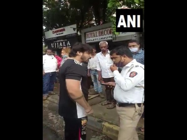 Visual of the incident in Thane