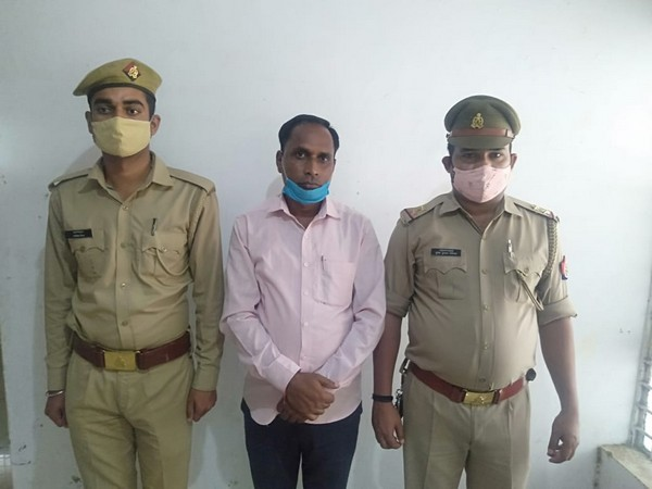 Arrested person in Lakhimpur Kheri (Photo/ANI)