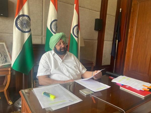 Captain Amarinder Singh, Chief Minister of Punjab (Photo/ANI)