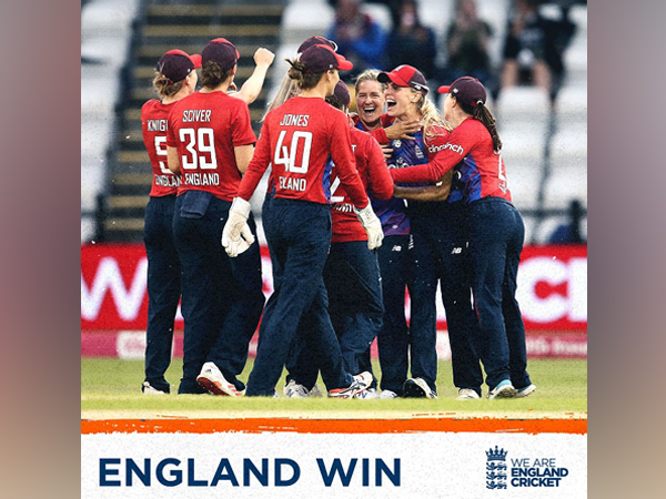 England have taken a 1-0 lead in the T20I series (Image: England Cricket)