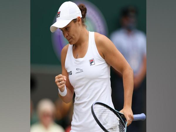 Australian tennis player Ashleigh Barty (Photo/ Wimbledon Twitter)