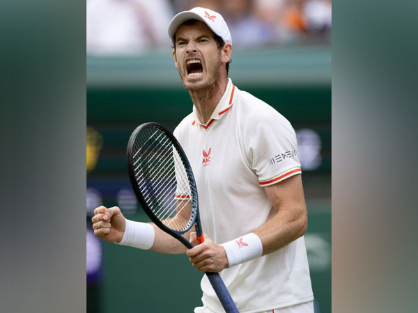 Tennis player Andy Murray (Photo/ Andy Murray Twitter)