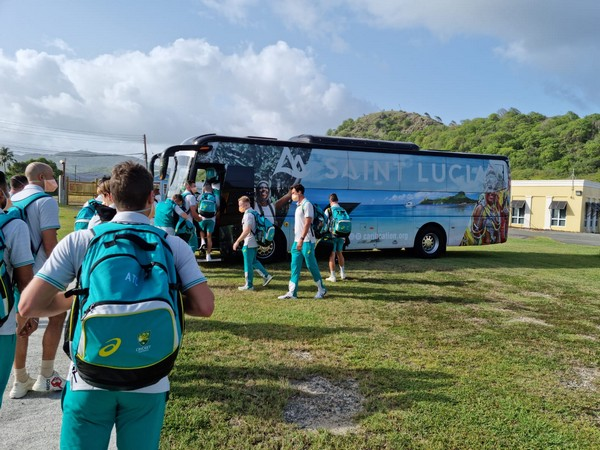 Australia arrive in West Indies (Photo/ Windies Cricket Twitter)