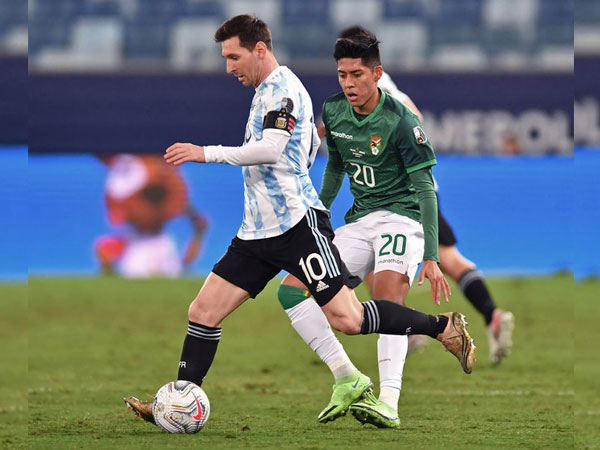 Messi in action against Bolivia (Photo/ Copa America Twitter)