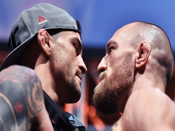 Conor McGregor and Dustin Poirier (Photo: Twitter/UFC)